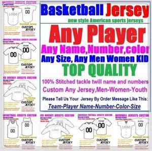 Custom BASKETBALL BASEBALL ICE HOCKEY American football Jerseys For Men Women Youth College Color baseball soccer jersey retro 4xl 5xl 6xl