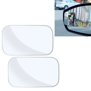 wtyd for mirrors 3R-054 2 PCS Car Truck Square Blind Spot Rear View Wide Angle Mirror Blind Spot Mirror 360 Degree Adjustable Wide-angle M