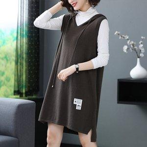 La nouvelle robe en laine pull à capuche de Hengyuanxiang pour automne / hiver 2020