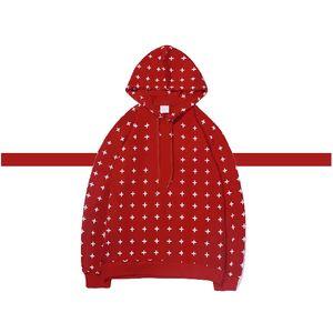 Man Geometric Pattern Hoodies Unisex Fashion Hooded Clothes Boy Hip Hop Top Streetwear High Quality Wholesale Trendy Ins Outwear