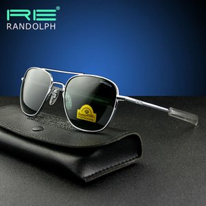 SunglasseSamerican Pilot's Высококачественная пластина, покрытая ногами закаленного стекла randolph солнцезащитные очки