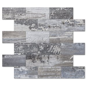 Art3D 10-лист 3d наклейки на стену, кожуры и палочка обратная сторона, кафельная плитка для кухней