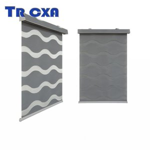 Blinds Customize Style Wave Type Window For Home