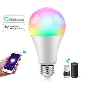 WiFi Wireless LED Bulb Smart Controller Compatible with Alexa Google Home,Working with Android,iOS System, RGB LED Strip Lights