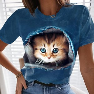 Shirt Women 2021 Kawaii Clothes Short Sleeve T-Shirts For Girls Women'S Summer Casual Cotton T Fashion Feminina T-Shirt