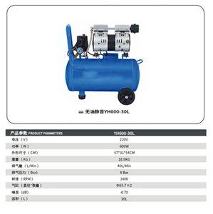 Küçük Pistonlu Kompresör Hava Pompası 600W 800W 980W Düşük Gürültü R Tamircinin Favorisi