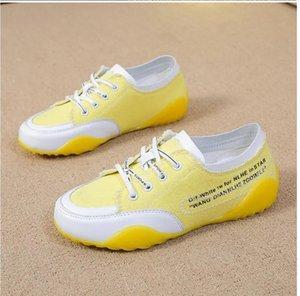 2021 zapatos para mujer Four Seasons Insper Match All-Match Classic Canvas Shoe Fashion Casual Sneakers Tamaño: 35-40 135F 1qq