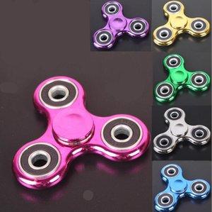 EDC TOPS Fingertip Trefoil Gyro ABS 플라스틱 브래킷 성인 어린이 감압 크리 에이 티브 손가락 장난감