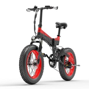 BEZIOR XF200 Adult Electric Bicycle 2 Wheels Electric-Bicycles Yellow Red Foldable Electrics Mountain e bike 1000W 48V In Stock