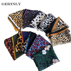 35 * 120см леопардовый шарф женские мода бандана шеи галстук стильный платок женские женские мозговые головки шикарные шейки бандана