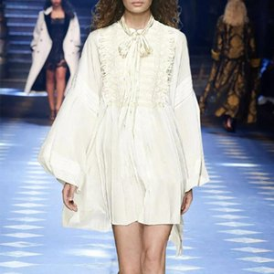 Повседневные платья летнее платье 2021 мода женский фонарь с длинным рукавом сексуальная одежда для женщин