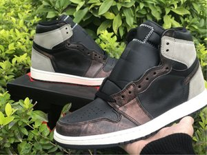 High og Rust Shadow 1s Баскетбольные туфли Высочайшее качество 1 Теннисная обувь Роскошные дизайнеры Кроссовки Полный размер 40 --- 47,5