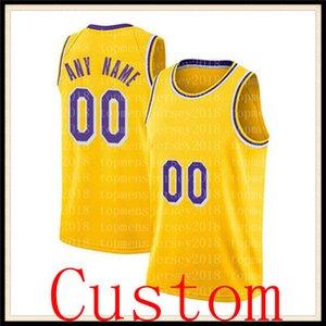2021 JR 21 Smith Los Jersey Angeles Custom An Name Basketball Jerseys 14 Green 11 Bradley 88 Morris 1 Caldwell-Pope Jersey 666