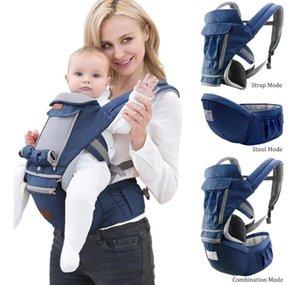 Carriers, Slings & Backpacks Bolsa Canguru Ergonômico Bebê Mãe 12 Posições 3 Em 1 Azul