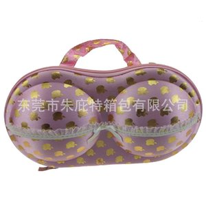 Home Storage Boxes Bins EVA bra Case Travel Portable waterproof net red bikini anti pressure lace bag