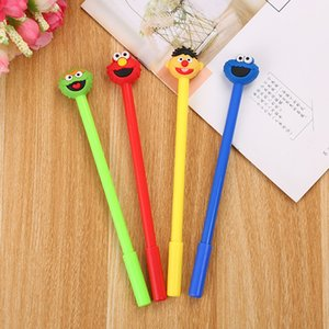 Cartoon expression ink gel pen Student gift school Supplies Stationery Office Kids gifts Writing tools 0315