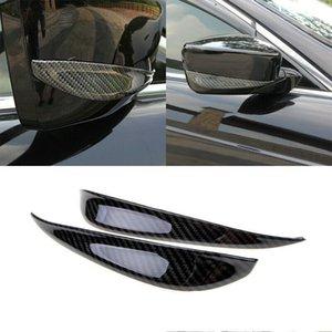 For Honda Accord 2008-2013 ABS Carbon Fiber Exterior Rear View Mirror Strip Trim