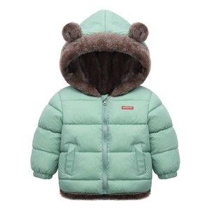 New kids' cashmere cotton padded jacket boys' down cotton padded jacket girls' cotton padded jacket