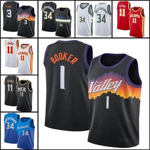 Basketball Jersey Giannis 34 Antetokounmpo Devin 1 BookerChris 3 PaulTrae 11 Young men