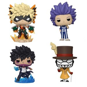 10cm anime My Hero Academia Todorok Deku Aizawa Tsuyu potrebbe figure figure kawaii figurine bambole giocattoli giocattoli ragazzi 210730