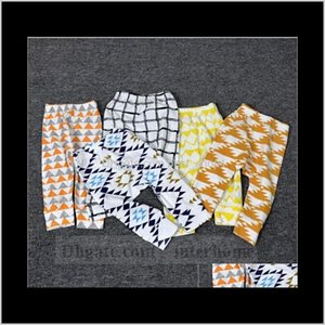 Baby Ins Pp Toddler Animal Tights Figure Lemon Haroun Pants Wheels Geometric Cropped Trousers Tent Fruit Leggings 34 Color 3Dhie Exwm5