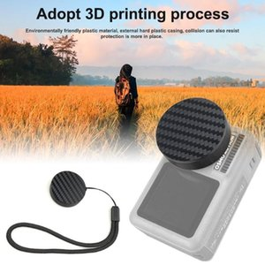 Lens Caps Camera Protection Cover For DJI Lingbi OSMO Action Sports Scratch Pad Sponge Lanyard Accessories