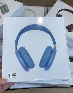 P9 Pro Max Generation 3 Наушники металлический шарнир беспроводной зарядки Bluetooth наушники GPS переименовывает наушники 2-го поколения