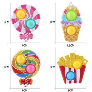 Грызун Pioneer Gourmet Finger Toy Music Подвеска Детские игрушки для снятия стресса Леденец Bubble Music-Topn289