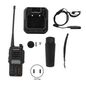 Walkie Talkie For Baofeng UV-XR PLUS Waterproof Built-In LED + Earphones 100-240V With Earphone