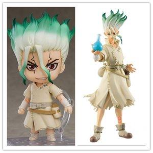 10 см доктор аниме на рисунке 1262 # Ishigami Senkuu действие фигурка Dr.stone Senkuu Ishigami фигурка коллекционные модели кукла игрушки