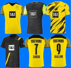2021 2022 Borussia Dortmund 20 21 22 fourth 4th HAALAND REUS BELLINGHAM soccer jersey HAZARD SANCHO BRANDT football shirt MEN kids BALR signature Size S - 4 xl