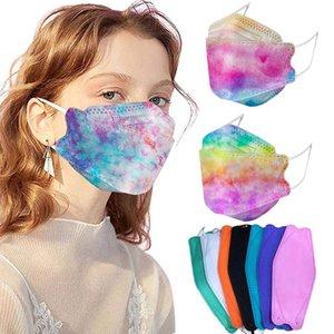 KF94 Maschere antipolvere e traspirante Tutte le protezioni rotonde Maschera per la maschera per il viso FFP2 KN95 Cover per la bocca