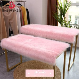 Carpets Bubble Kiss Fur Carpet Faux Rug For Living Room Bedroom Decor Quality Thicker Soft Shaggy Pink Mat Floor