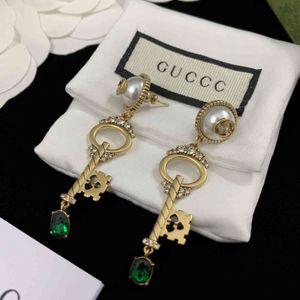 Special offer 70% OFF Luxury Jewelry Gjia gujia 2021 new key earrings for women