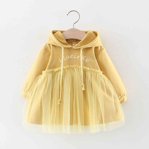 Skirt 4 Girl's Old Dresses Girls 0-1-2-3 Years Children's Dress Baby Spring and Autumn Clothes 6 Months 12 Foreign Style 9