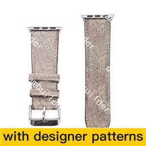 straps Watchbands Watch Band 42mm 38mm 40mm 44mm iwatch 2 3 4 5 bands Leather Strap Bracelet Fashion Stripes