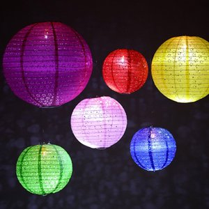 20pcs lot 8 Inch Round Home Decor Japanese Paper Lantern Ball Wedding Birthday Party Hanging Decoration Centerpieces