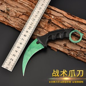 Factory Direct Sales Machete Wild Survival Multi-Function a Folding Knife Outdoor Carry CSGO Comic Game Mini Claw Knife