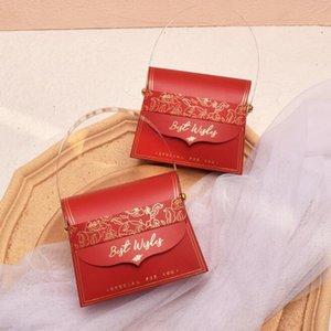 Caselle Box Box di Carta di Compleanno con Maniglia Lady Cosmeitc Gioielli Regalo Confezione Bonbonniere Forniture Y1321