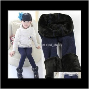 Clothing Baby, & Maternity Drop Delivery 2021 2-7 Years Baby Girl Warm Fleece Winter Thicken Brush Kids Tights Children Pants Stocking Outdoo