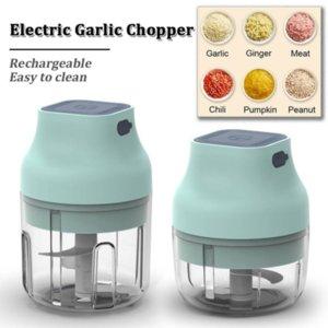 Mini Electric Grinder Blender Crusher Food Garlic Vegetable Chopper Grinders Press for Nut Meat Fruit Rechargeable