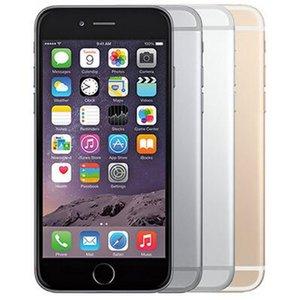 تم تجديده الأصلي Apple iPhone 6 Plus مع بصمة 5.5 بوصة A8 شرائح 1 جيجابايت رام 16/64/128 جيجابايت روم ios 8.0mp مقفلة lte 4 جرام الهاتف بالجملة dhl 1 قطع