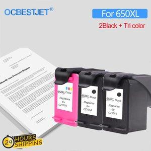 Ink Cartridges Replacement Cartridge For 650 650XL Deskjet 1015 1515 2515 2545 2645 3515 4645 Printer