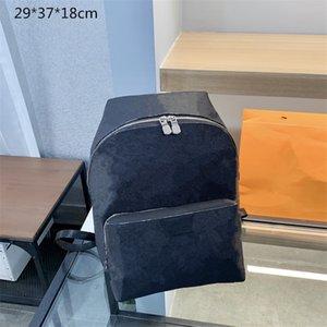 Unisex Designer Black Backpacks Medium Size Luxury School Bags Flowers Men Women Outdoor Travel Bag Fashion Students Back Packs L21041601