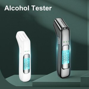 Alcoholism Test Alcohol Breath Tester LED Digital Display High Accuracy Breathalyzer Analyzer Blow-type Drunk Driving For Vehicle