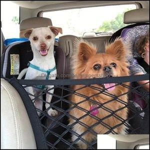 Kennels Supplies Gardenkennels & Pens Dog Gate Pet Barrier Portable Folding Breathable Mesh Net Separation Car Home Outdoor Guard Enclosure
