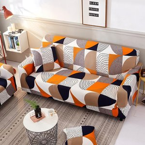 Chair Covers Seat Elastic Modern Sofa For Living Room Printing Two And Three Seats A45018