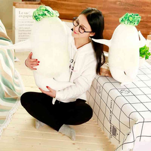 popular new products with Japanese style big root sexy radish printed pillow cure doll