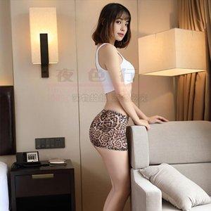 Sexy см. Через ледяные шелковые леопардовые женские юбки Микро Мини прозрачный жесткий карандаш прозрачный ночной клуб фантазия полиэстер эротичный
