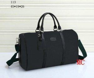Fashion 45cm designer women men G travel bags famous classical 2022 shoulder designer duffel bags carry on tote luggage handbags